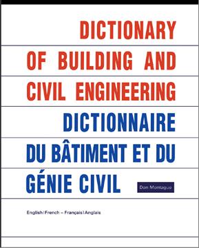Dictionnaire génie civil (Français-Anglais) (Anglais-Français) 12489410