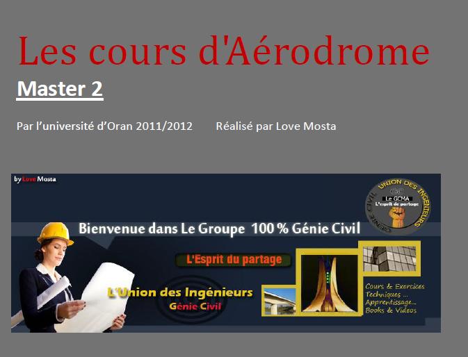 Les cours d'Aérodrome M2  VOA  &( BONUS = Examens ) PDF Captur10