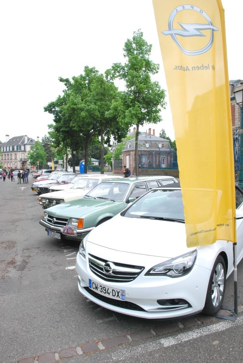 Rassemblement européen en Opel anciennes à Colmar, 26 avril 2014 Opel_011
