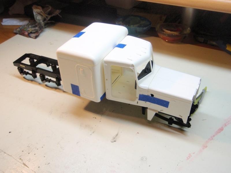 Peterbilt 359 + remorque porte auto WIP Pa120019