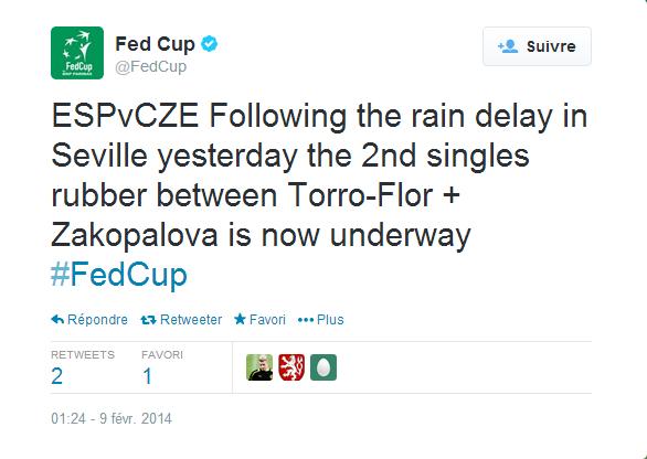 FED CUP 2014 : Groupe mondial en course pour le titre Sans_248
