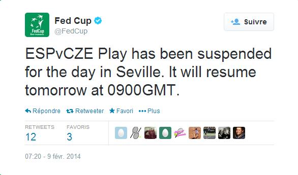 FED CUP 2014 : Groupe mondial en course pour le titre - Page 2 Sans_249