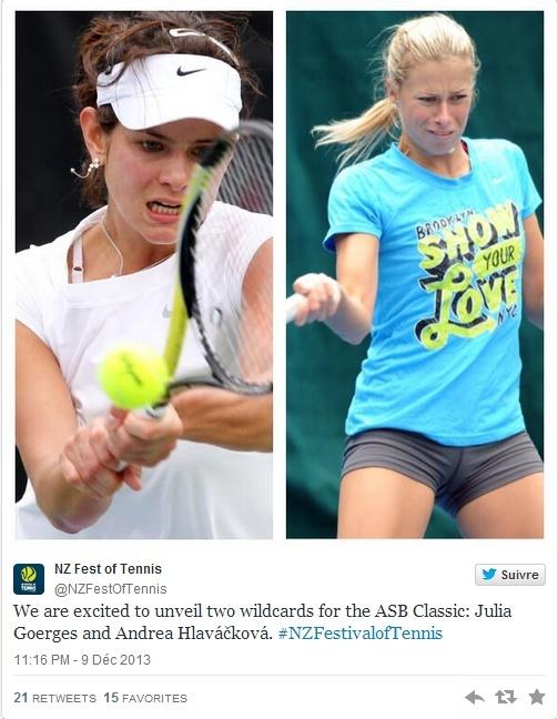 WTA AUCKLAND 2014 : infos, photos et vidéos Sans_t90