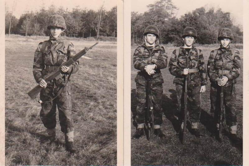 tenue infanterie de Marine B310