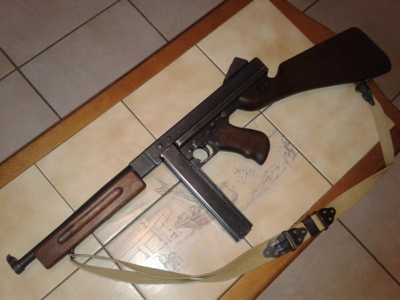 identification marquage Thompson M1 A1 ( photos ) 2014-036