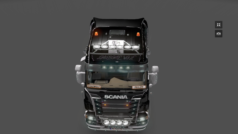 [ETS2]Scania Roadwolf(lonesome Wolf) Skin schwarz Ets2_011