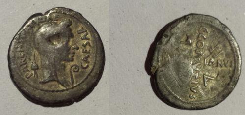 denier de Jules César _1210