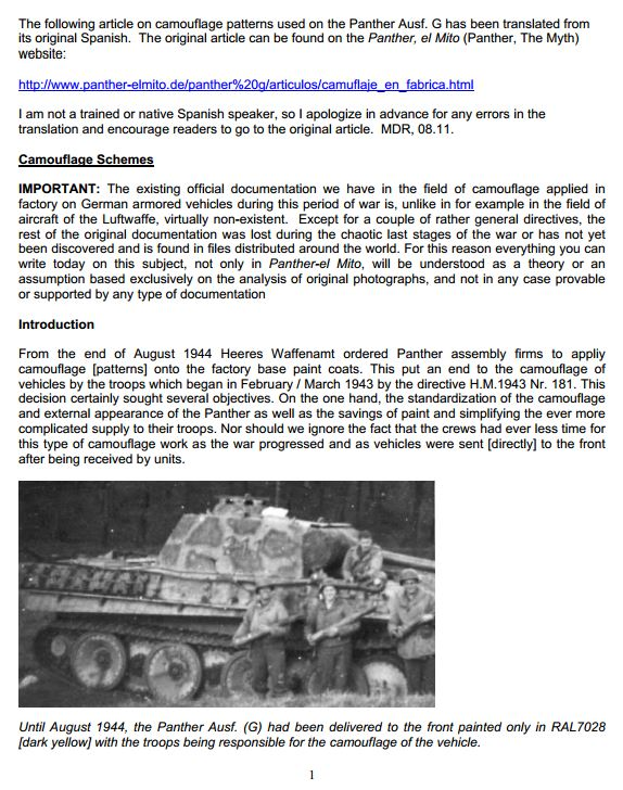 HL Panther G Represents A Tank Made From Oct. 1944 - On Camo_110