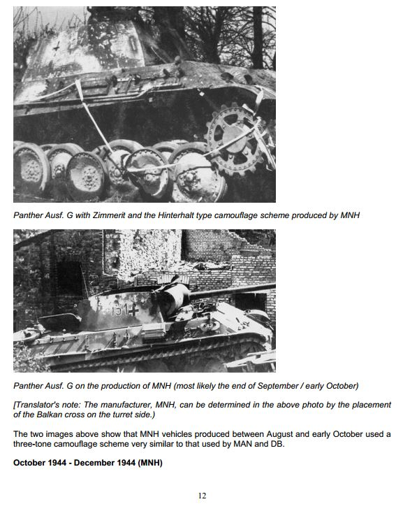 HL Panther G Represents A Tank Made From Oct. 1944 - On Camo_113