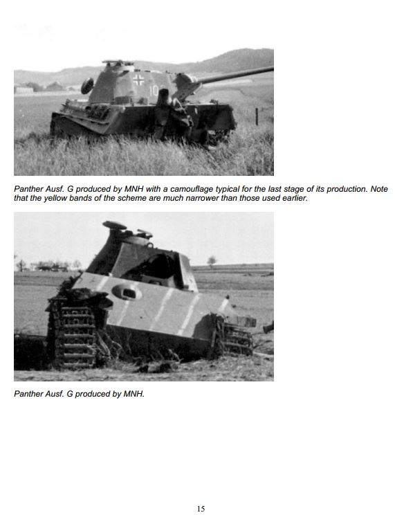 HL Panther G Represents A Tank Made From Oct. 1944 - On Camo_116