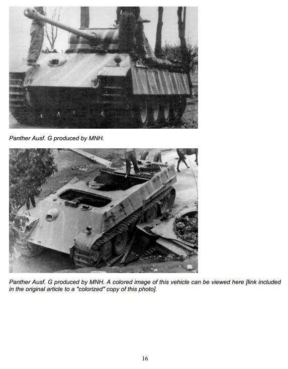 HL Panther G Represents A Tank Made From Oct. 1944 - On Camo_117