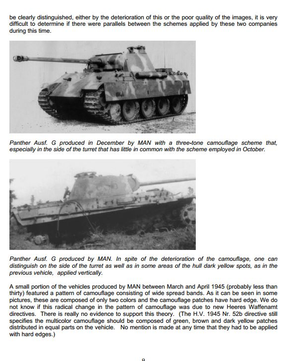 HL Panther G Represents A Tank Made From Oct. 1944 - On Camo_910