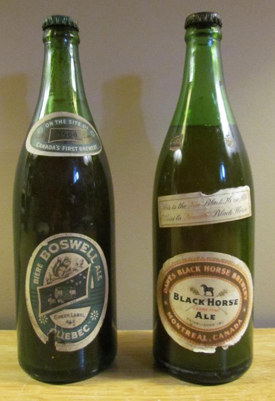 Mes dernières trouvailles des anciennes brasseries du Québec... Beer-013