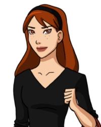 Miss Martian, l'Héritage Blanc Megan10
