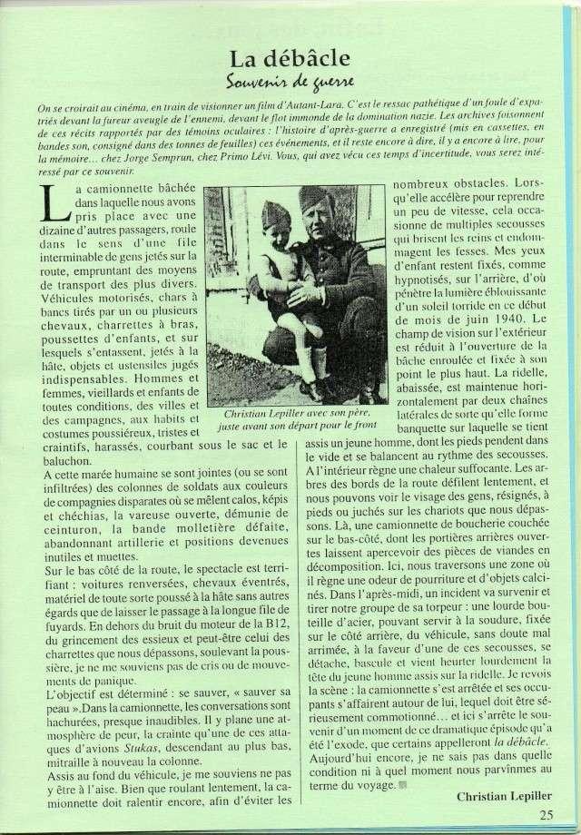[Histoire et histoire] Exode 1940 (La débacle). Souvenir d'un enfant parisien dans.... La_dab10