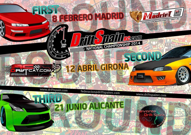 DriftSpainRC - II Campeonato Nacional - 8 de Febrero - MadriftLand Coming10