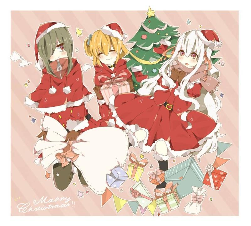 Cadeaux de Noël!=D K_proj10