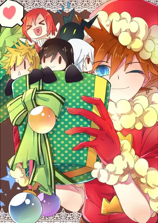 Cadeaux de Noël!=D Kingdo11