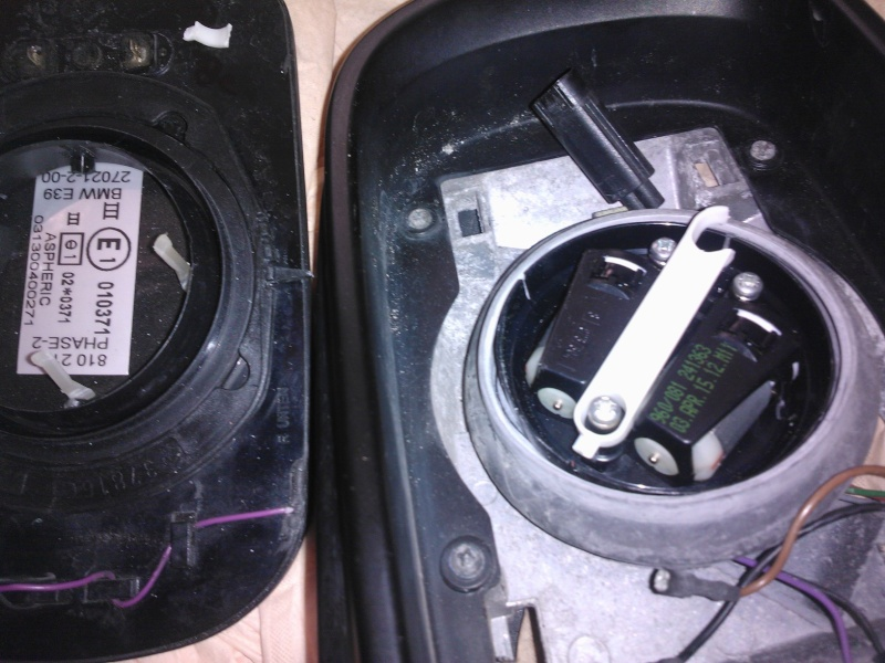 [BMW 520 d E39] Comment réparer un rétroviseur ? Wp_00010
