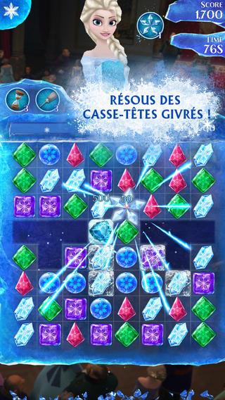 Application - La Reine des Neiges Free Fall  Screen12