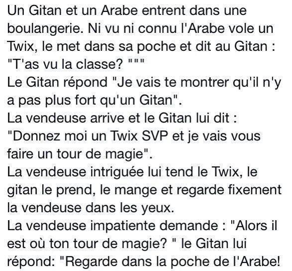 Un Gitan et un Arabe 15493110