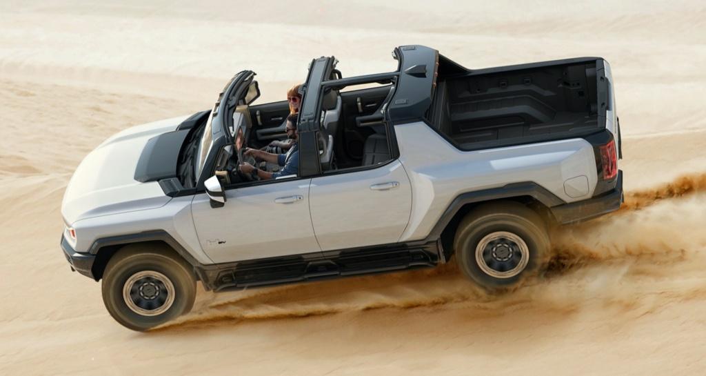 Voilà le nouveau Hummer est arrivé ; GM dévoile le Hummer EV en tant que `` premier supertruck au monde '' pour 112600 $ à partir de 2021 2022-g10