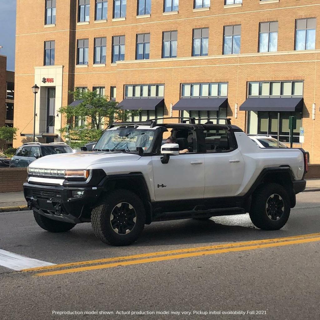 Voilà le nouveau Hummer est arrivé ; GM dévoile le Hummer EV en tant que `` premier supertruck au monde '' pour 112600 $ à partir de 2021 - Page 8 22a3ca10