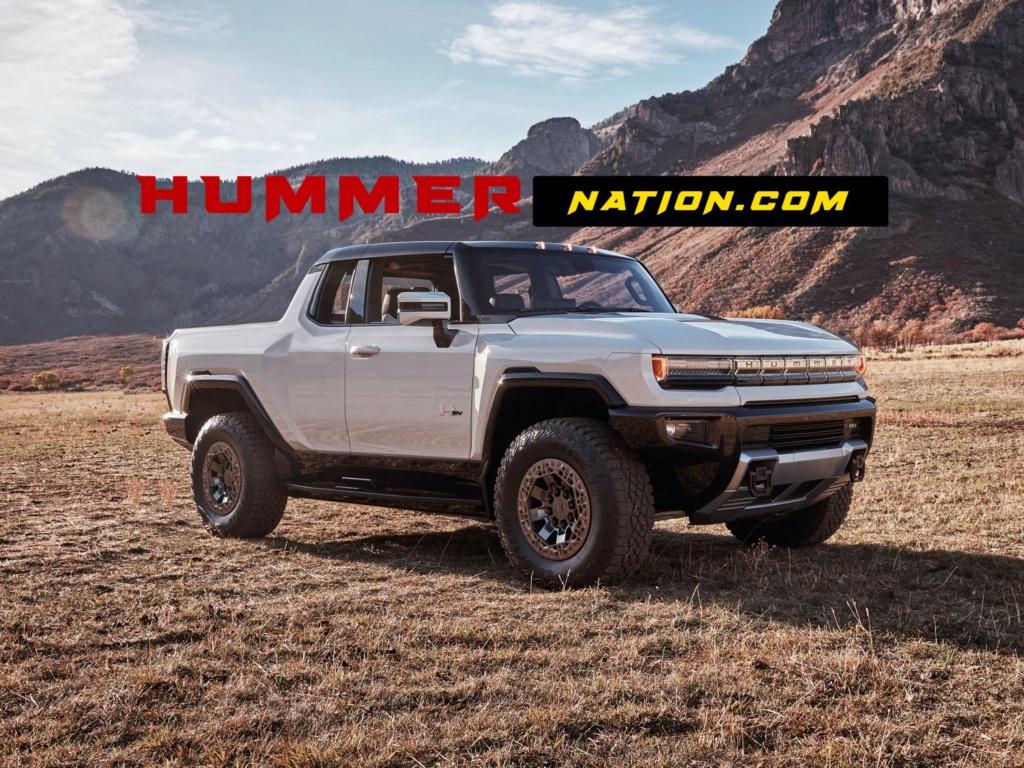 Voilà le nouveau Hummer est arrivé ; GM dévoile le Hummer EV en tant que `` premier supertruck au monde '' pour 112600 $ à partir de 2021 Gmc-hu10