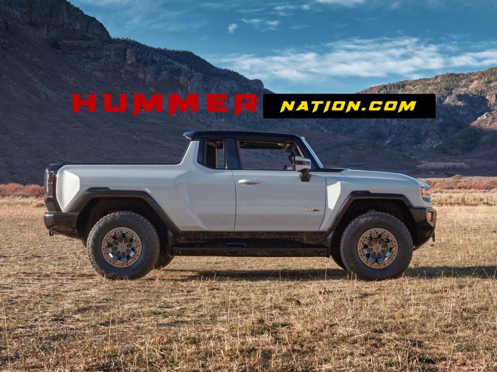 Voilà le nouveau Hummer est arrivé ; GM dévoile le Hummer EV en tant que `` premier supertruck au monde '' pour 112600 $ à partir de 2021 Gmc-hu11