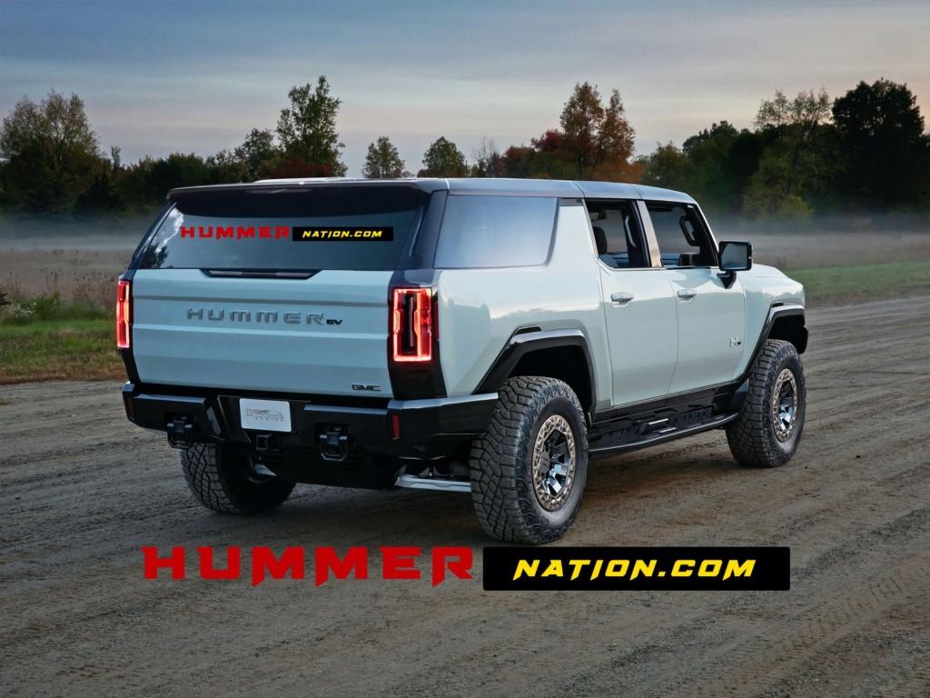 Voilà le nouveau Hummer est arrivé ; GM dévoile le Hummer EV en tant que `` premier supertruck au monde '' pour 112600 $ à partir de 2021 Hummer10