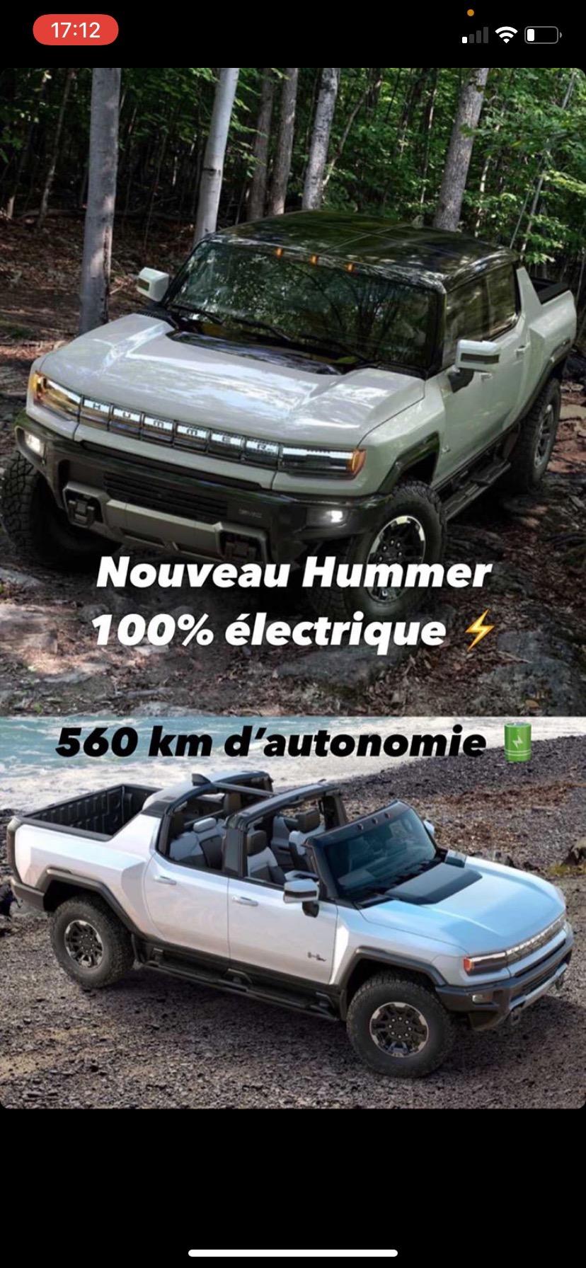 Voilà le nouveau Hummer est arrivé ; GM dévoile le Hummer EV en tant que `` premier supertruck au monde '' pour 112600 $ à partir de 2021 Img_2630