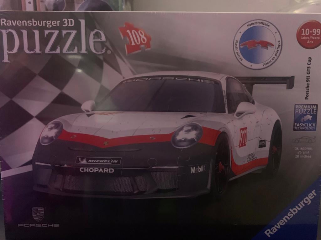 Porsche 911 R en puzzle 3D Img_8510