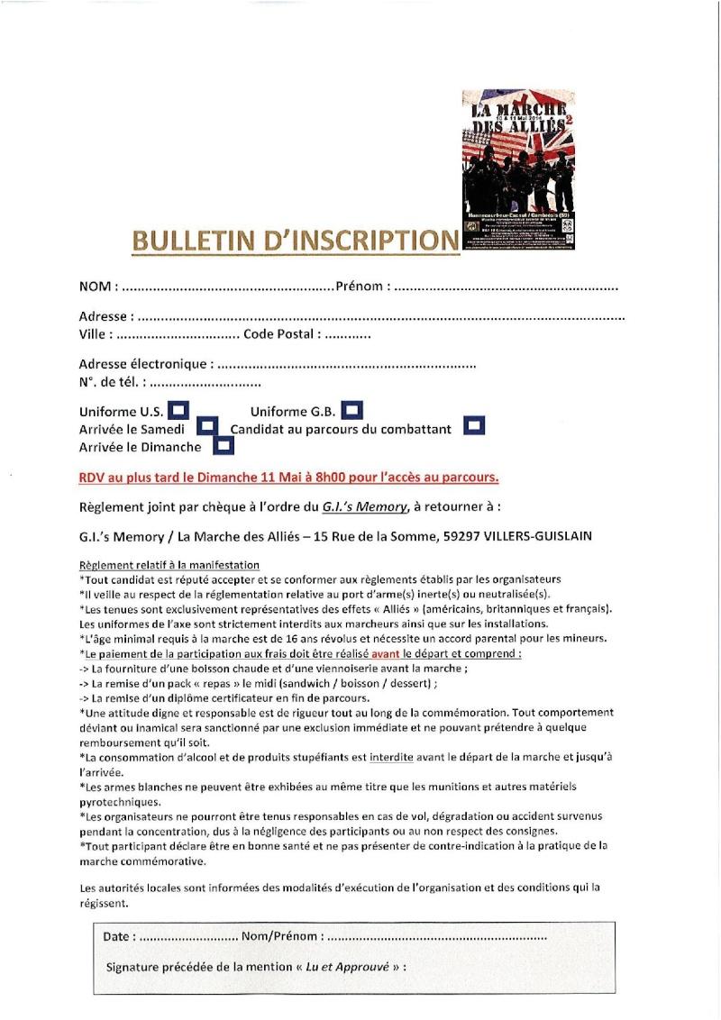 Marche des alliès N2 10et 11 mai 2014 Bullet10