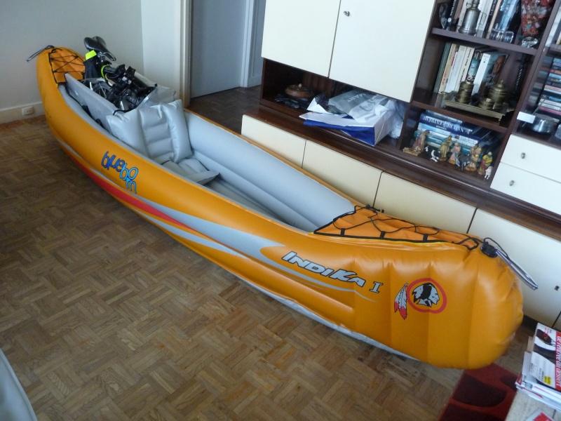 Balades collectives en vélo-kayak : préparatifs du matériel et questions logistiques  [projet de Pouille] P1020919