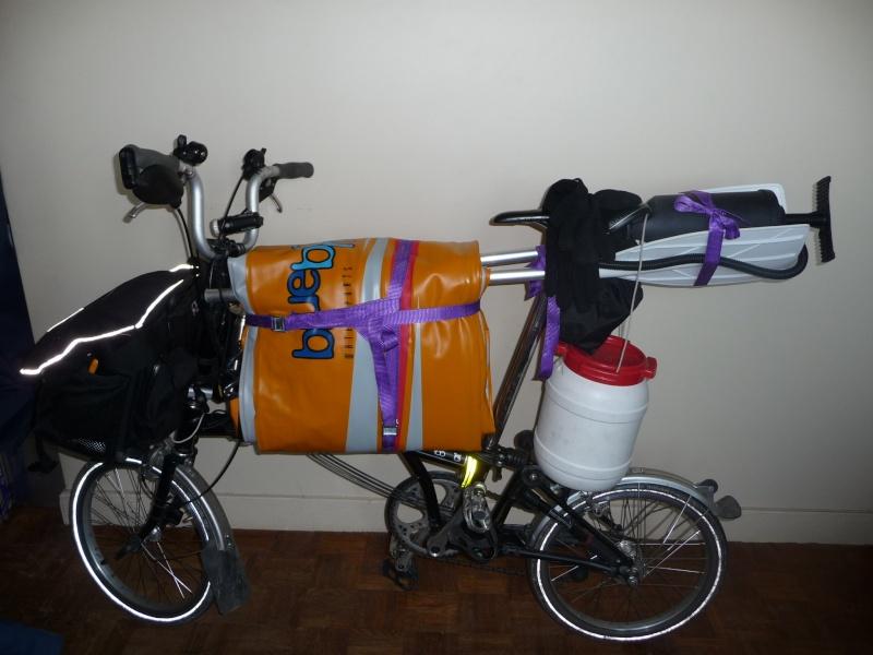 Balades collectives en vélo-kayak : préparatifs du matériel et questions logistiques  [projet de Pouille] P1020942
