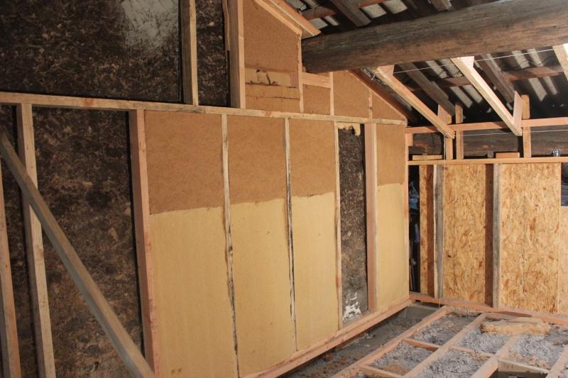 transformation d 39 une remise en habitation page 2. Black Bedroom Furniture Sets. Home Design Ideas