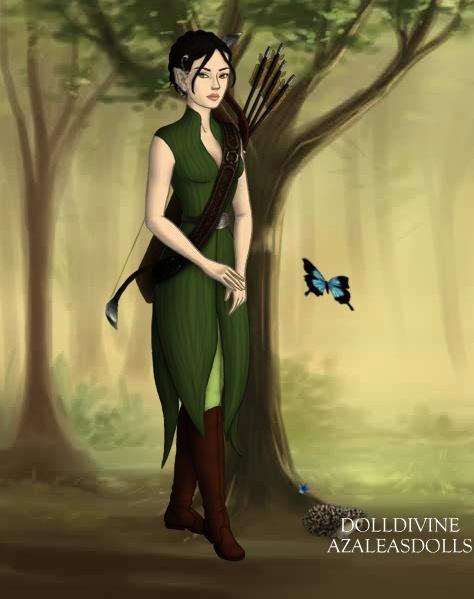 un avatar made middle-earth ! Lyrhil10
