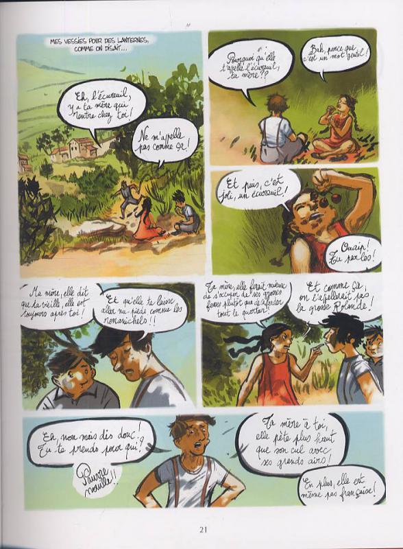 Lettres d'Agathe, Nathalie Ferlut Fer10