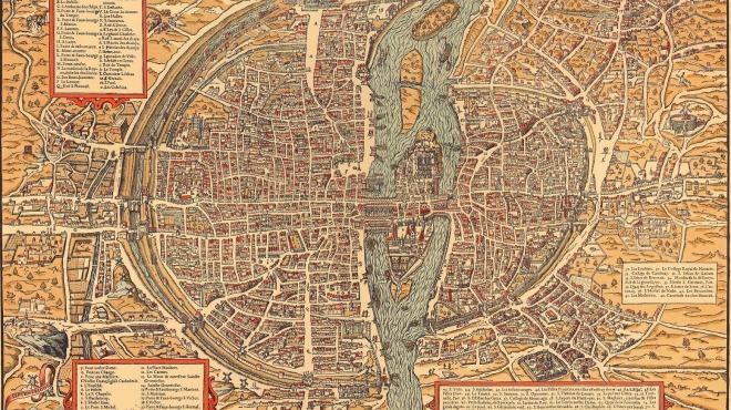 Anciens Plans de la ville de Paris (1550 à 1948) 157510