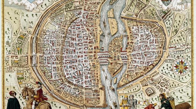 Anciens Plans de la ville de Paris (1550 à 1948) 157610