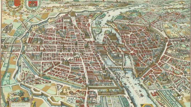 Anciens Plans de la ville de Paris (1550 à 1948) 161510