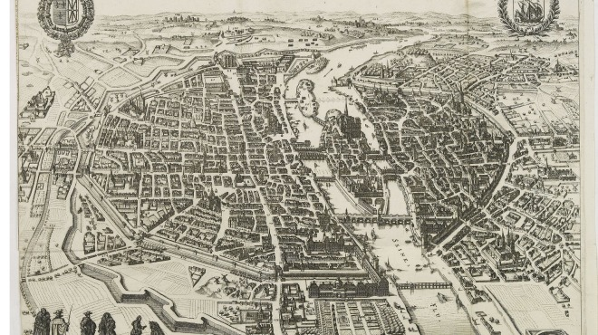 Anciens Plans de la ville de Paris (1550 à 1948) 162010