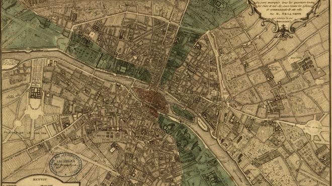 Anciens Plans de la ville de Paris (1550 à 1948) 174010