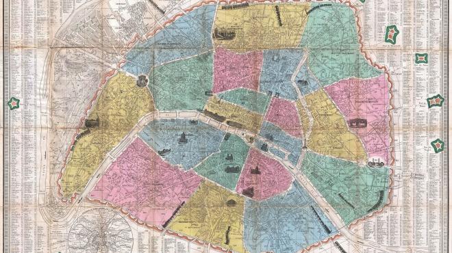Anciens Plans de la ville de Paris (1550 à 1948) 186310