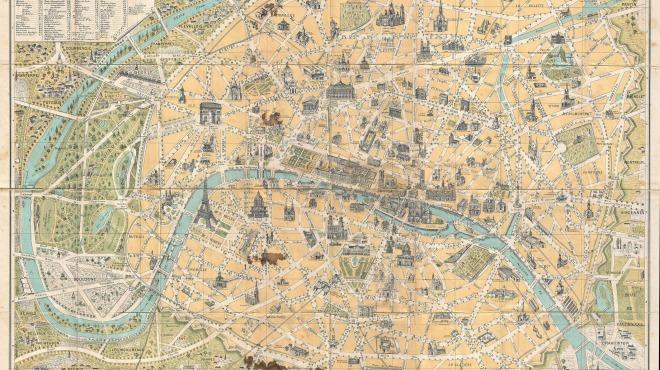 Anciens Plans de la ville de Paris (1550 à 1948) 189010