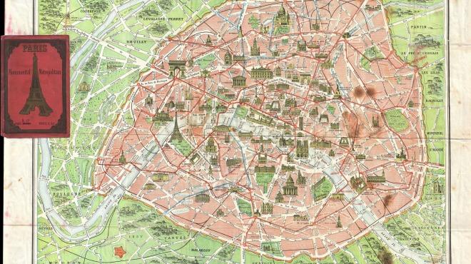 Anciens Plans de la ville de Paris (1550 à 1948) 192010