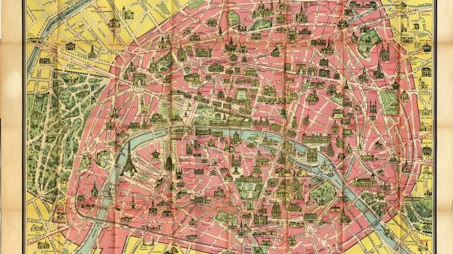 Anciens Plans de la ville de Paris (1550 à 1948) 194810