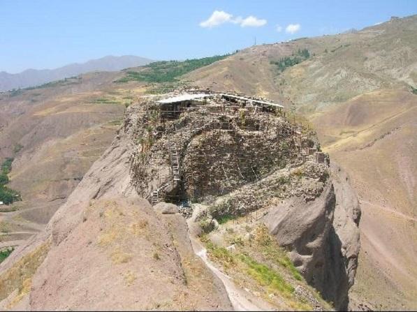 La forteresse d'Alamut - Iran - Moyen-Orient Alamut14