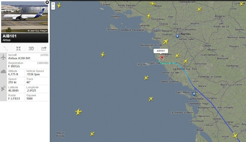 [28/11/2013] Passage de l'Airbus A350XWB Prévu pour Jeudi 28/11 !!!  2013-111
