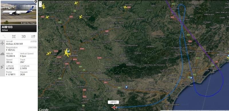 [28/11/2013] Passage de l'Airbus A350XWB Prévu pour Jeudi 28/11 !!!  - Page 2 2013-115